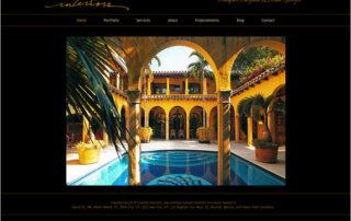 Claudia Garcia Interior Design website by Ritama Web Design