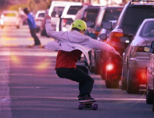 Electric Skateboard, a gas-free ride