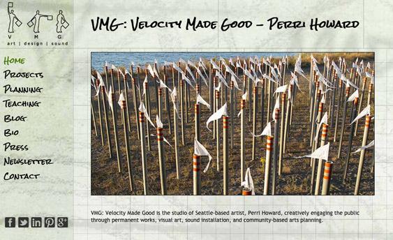 Velocity Made Good VMG by Ritama Web Design, Seattle, WA