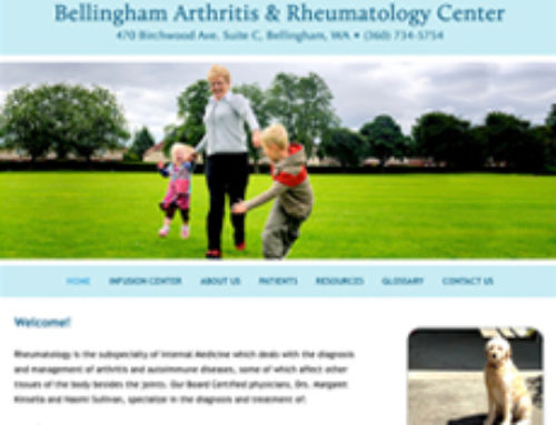 Bellingham Arthritis Gets A New Look!