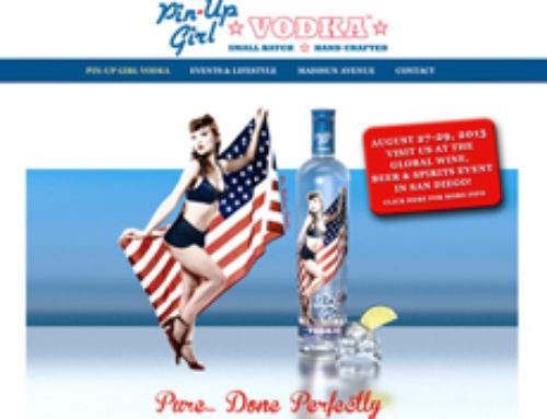 Pin-Up Girl Vodka Shakes Up The Internet!