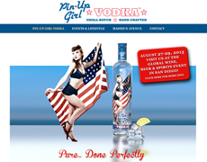 pin-up-girl-vodka-ritama-web-design