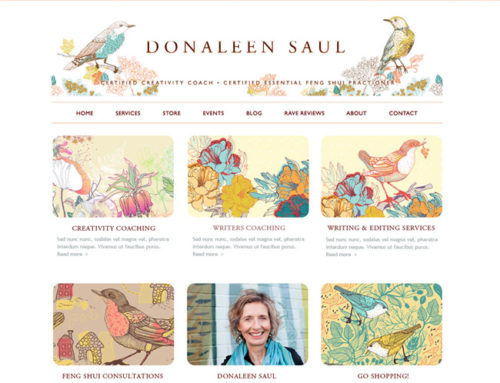 Donleen's site gets a makeover!