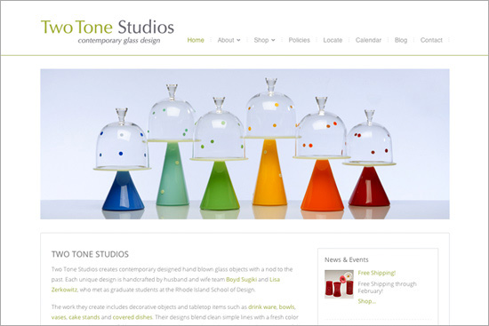 Two Tone Studios – Ritama Web Design Featured Site