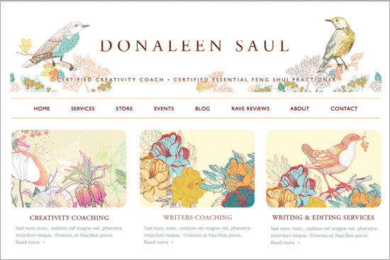 Donaleen Saul – Ritama Web Design Featured Site