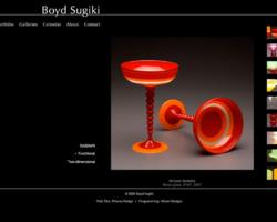 Boyd Sugiki, WordPress website, created by Ritama Design