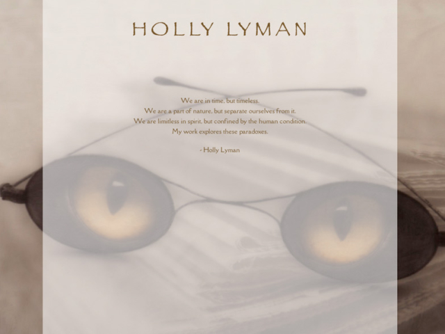 Holly Lyman, WordPress website, created by Ritama Design