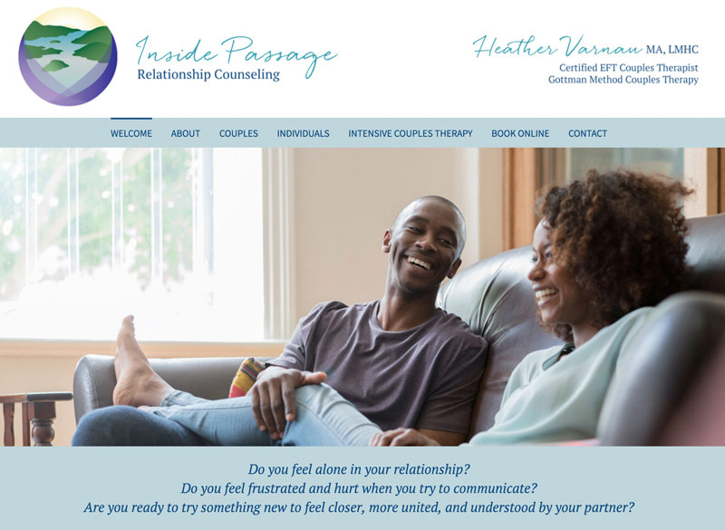 Inside Passage Relationship Counseling by Ritama Website Design