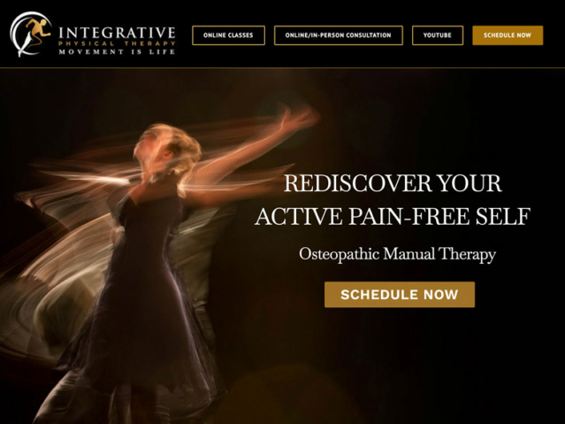 Integrative Physical Therapy Services.com by Ritama Web Design