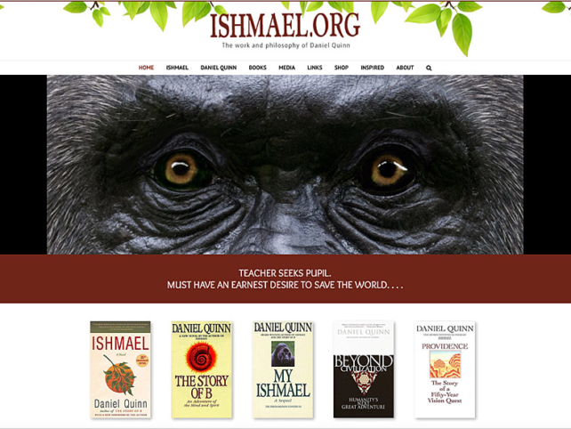 Ishmael.org by Ritama Web Design