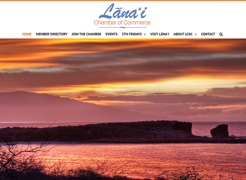 lanai-chamber-of-commerce-maui-hawaii-ritama-website-design