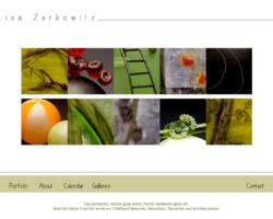Lisa Zerkowitz, WordPress website, created by Ritama Design