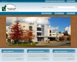 NW Gastroenterology, WordPress website, created by Ritama Design