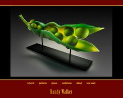 Randy Walker Glass, WordPress website, created by Ritama Design
