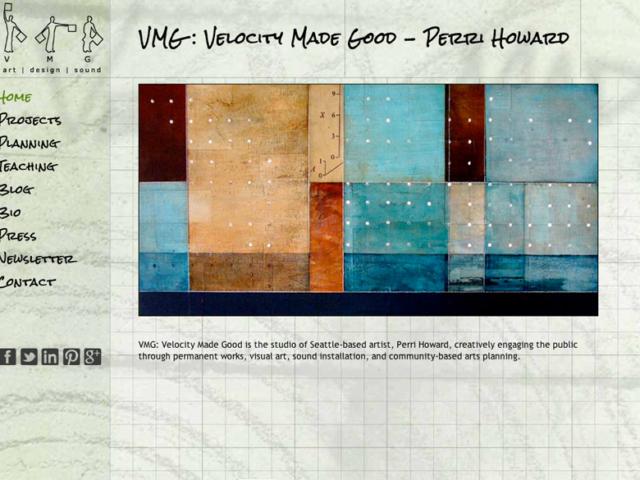 VMG Works, WordPress website, created by Ritama Design